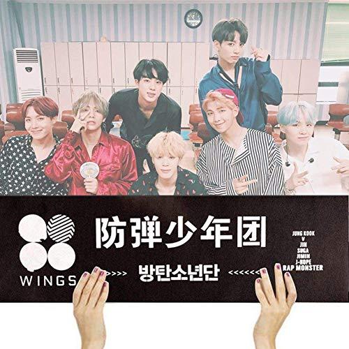 Christ For Givek Kpop BTS Bangtan Jungen Banner Flügel Fans Armee Unterstützung New Banner für Party Konzert FLA -