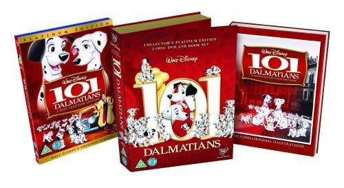 101 Dalmatians Platinum Edition - Deluxe Book Pack [DVD] [1961] -