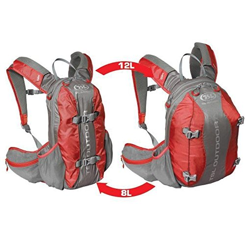TJB nordicfly 8/12, Sac à Dos Mixte Adulte, Adulte Mixte, Nordicfly 8/12, Rouge