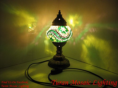 AMAZING HANDCRAFTED Turkish&Moroccan Mosaic Table Lamps for Living Room&Bedroom