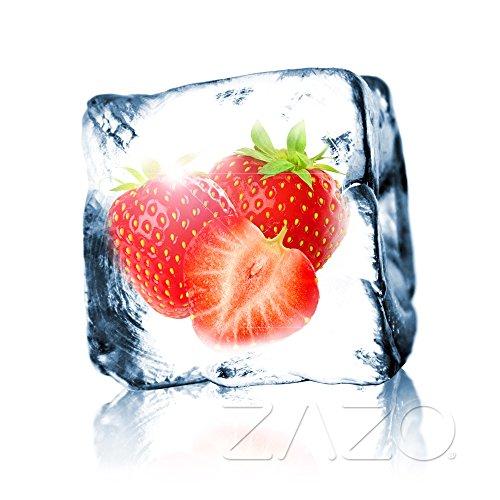 Erdbeer Cool Liquid 10ml für E-Zigarette/Shisha / 0mg Nikotin (E-zigarette Cool)
