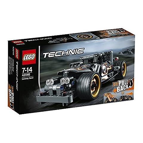 LEGO - 42046 - Technic - Jeu de construction - La Voiture du Fuyard
