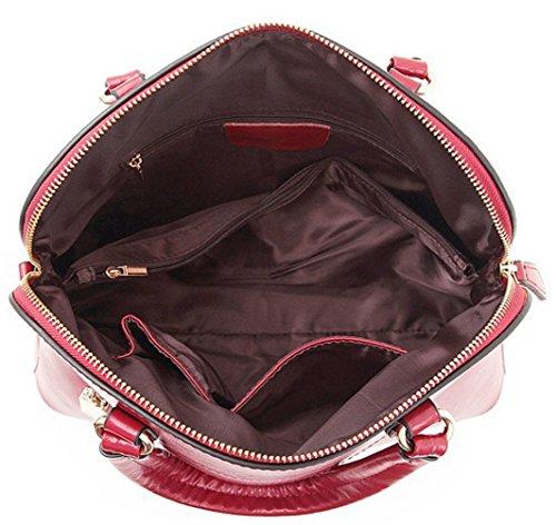 Keshi Leder Niedlich Damen Handtaschen, Hobo-Bags, Schultertaschen, Beutel, Beuteltaschen, Trend-Bags, Velours, Veloursleder, Wildleder, Tasche Zitronengelb