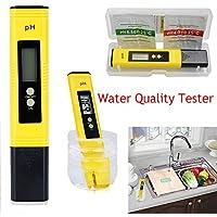 Medidor de pH de resolución 0.01 con Bolsillo LCD Digital, comprobador de Calidad del Agua para Uso doméstico, Agua Potable, hidroponía, acuarios, Piscinas