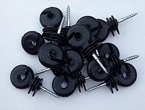 50 x Electric Fencing Ring Insulators