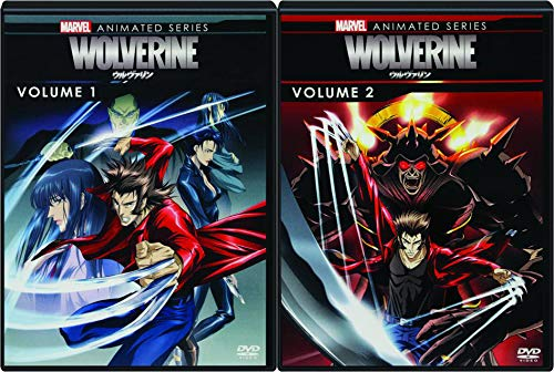 The Marvel Animated Wolverine Complete Season One Volumes 1 & 2 Widescreen 2-DVD Set Bundle