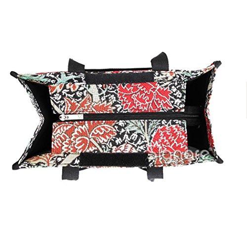 Signore/ragazze Shopping Bag a tracolla in tela Mattina Giardino Design Cray
