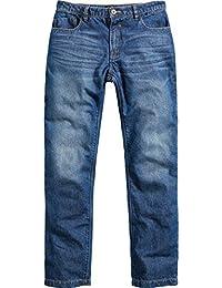 Spirit Motors Motorradjeans, Motorradhose Herren Jeans mit Schutzfunktion,  5-Pocket-Jeans im Boot-Cut Style, Taschen… 1273012aef