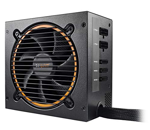be quiet! Pure Power 11 cm ATX PC Netzteil 500W schwarz 80PLUS Gold mit Kabelmanagement BN297