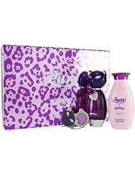 Katy Perry Purr 50 ml Eau de Parfum + 120 ml Körperlotion + 6 ml Solid Perfume Medaillon Geschenkset für Sie, 1er Pack (1 x 50 ml)