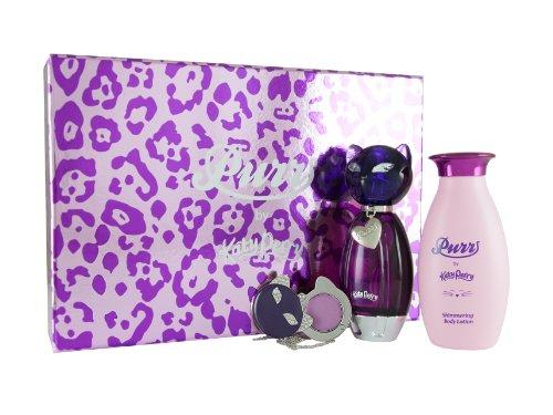 Katy Perry Purr Confezione Regalo 50ml EDP + 120ml Lozione per il Corpo + Profumo Solido