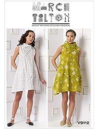 Vogue Patterns 9112 ZZ - Cartamodello per Abiti da Donna a4d1c06dfb1
