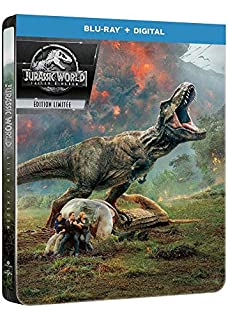 Jurassic World : Fallen Kingdom [Édition SteelBook Blu-Ray + Digital] (B07D9WVDTF) | Amazon price tracker / tracking, Amazon price history charts, Amazon price watches, Amazon price drop alerts