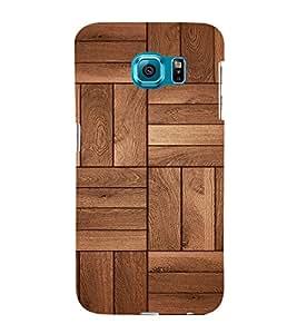 Beautiful Wood Design 3D Hard Polycarbonate Designer Back Case Cover for Samsung Galaxy S6 Edge :: Samsung Galaxy Edge G925