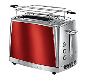 Toaster Luna 2 fentes Rouge Solaire 23220-56 Russell Hobbs