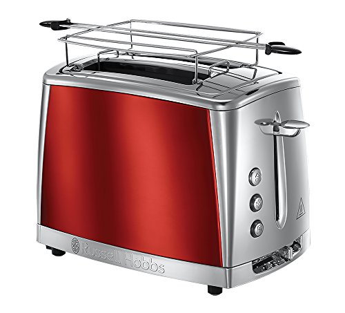 Toaster Luna 2 fentes Rouge Solaire...