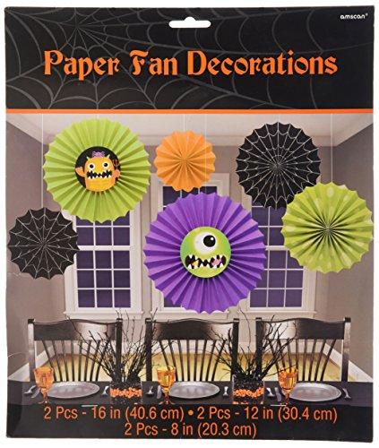 291096Boo Crew Monsters Dekoration Fan, 20,3/30,5/40,6cm ()