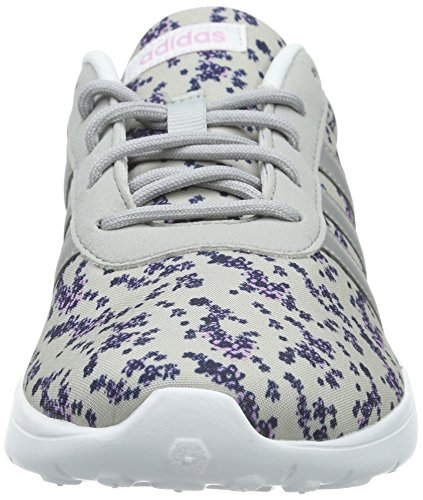 Adidas neo Lite Racer, Scape per Sport Indoor Donna Multicolore (Mehrfarbig (Clear Onix/Matte Silver/Light Orchid S15))