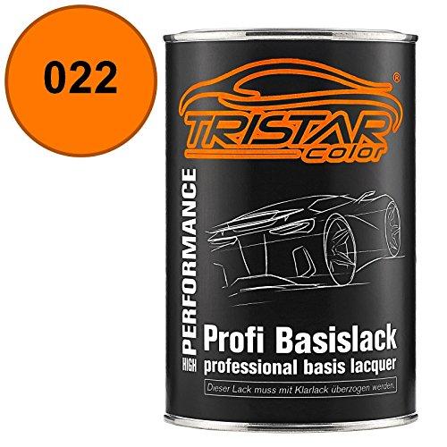 Preisvergleich Produktbild TRISTARcolor Autolack Dose spritzfertig Bayerische Motoren Werke / BMW 022 Inka Basislack 1, 0 Liter 1000ml