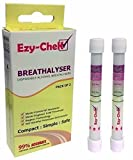 Ezy-CheK Breathalyser - Bagless Technology : UK and NF Detection Levels (Twin Pack) Breathalyzer