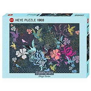 Heye 29822 - Puzzles para pájaros y Flores
