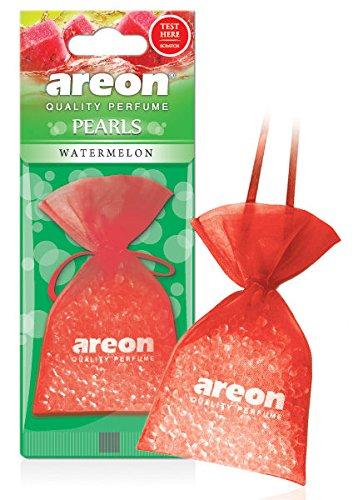 areon Perlen Auto Air Wassermelone Aroma Lufterfrischer Qualität Parfüm Home Office Duft (Pack von 3) (Home-duft-aroma-perlen)