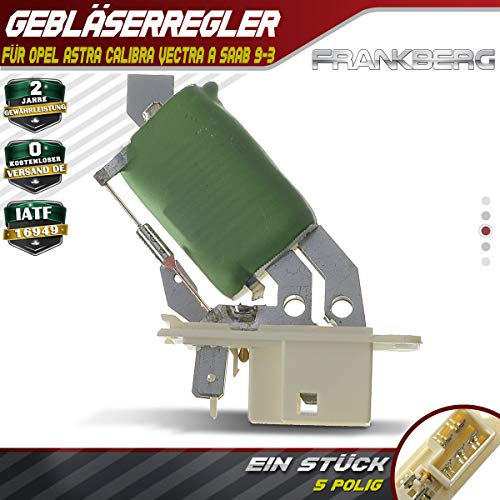 Gebläseregler Vorwiderstand Steuergerät für Astra F Calibra A 85_ Vectra A 86_ 87_ 9-3 YS3D 900 II 1990-2005 90383817