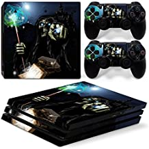 46 North Design Ps4 Pro Playstation 4 Pro Pegatinas De La Consola Magic Skull + 2 Pegatinas Del Controlador