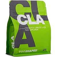 CLA 1000 mg capsule di gelatina molle - bruciagrassi, potenziamento muscolare e normalizzazione del livello di colesterolo - 100 capsule a dosaggio elevato - acido linoleico coniugato da TOOSHAPED