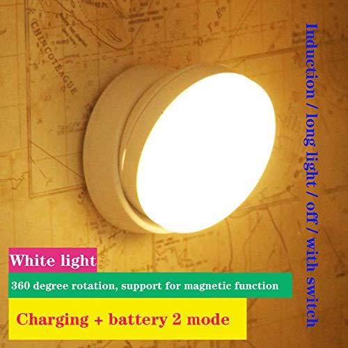 Aione Einstellbare Unter Bett Licht Bewegung aktiviert automatische Sensor LED Nachtbett Licht mit Schalter Kleiderschrank Küche Akzentbeleuchtung,7 -