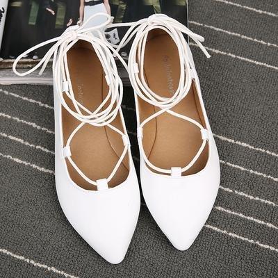 &qq Chaussures femme, chaussures plates 38