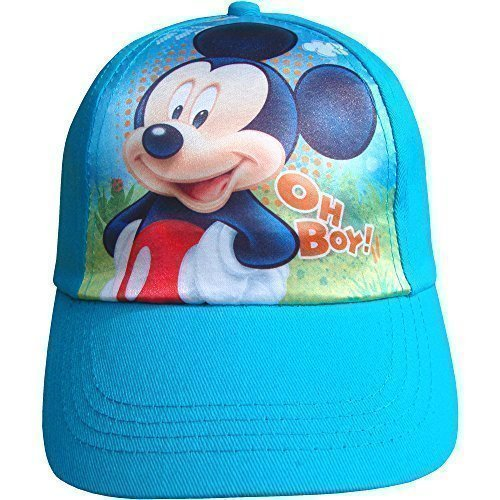 Image of Boy's Avengers, Mickey Mouse & SpiderMan Summer Baseball Cap Hat (Mickey Mouse)