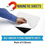 MFM Toys Self Adhesive Flexible Magnetic Sheet 300x300mm (Pack of 2)