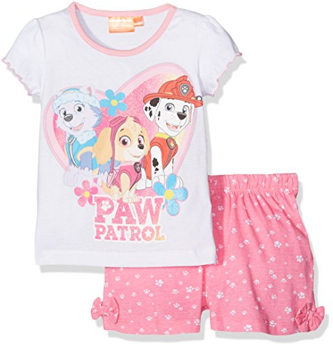 nickelodeon-madchen-pyjama-sets-paw-patrol-weiss-4-5-jahre