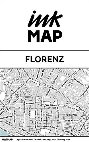 Inkmap Florenz - Karten für eReader, Sehenswürdigkeiten, Kultur, Ausgehen (German)