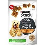 Beneful Snacks Fleisch-Häppchen Huhn Hundesnack Beutel, 7er Pack (7 x 70 g)