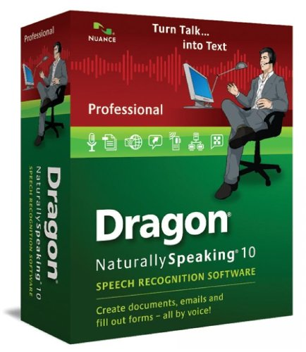 Dragon Naturally Speaking (v10.0) Professional Upgrade Brown Bag Non Var