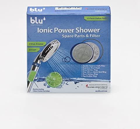 Spare Part Set for the model blu Ionic Power Shower, NOT SUITABLE for the model blu Ionic Power Filter by blu, www.swissblu.com