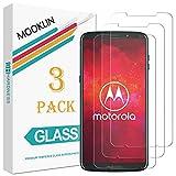 MOOKLIN Screen Protector for Motorola Moto Z3 Play, 3 Pack,