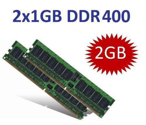 2 Gb Ddr400 Kit (OEM MEMORY (Mihatsch & Diewald) 2GB Dual Channel Kit 2 x 1 GB 184 pin DDR-400 (400Mhz, PC3200, CL3) double sided für DDR1 Intel + AMD Systeme)
