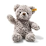Steiff Soft Cuddly Friends Honey Teddybär Kuscheltier, Hellgrau, 28 cm