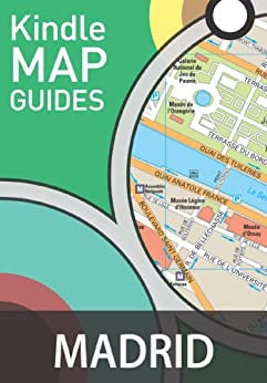 Madrid Map Guide (Street Maps) (English Edition) par [International, Maps]