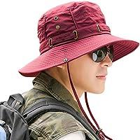 Tapa De Protección Visor Hombres Sombreros Los Amantes Playa Pescador  Plegable Sol Verano Montando Bicicleta Montaña 71bd2b2bfa15