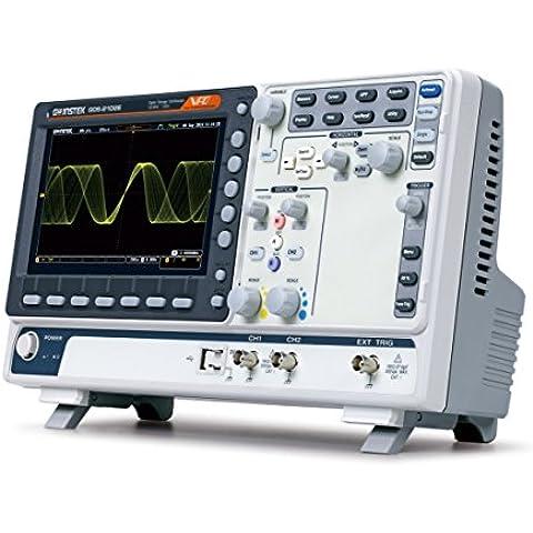 GW Instek GDS-2202E - Osciloscopio de almacenamiento digital (puerto USB, pantalla LCD a color de 8