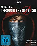 DVD & Blu-ray - METALLICA - Through the Never (2-Disc Edition, Steelbook) [3D Blu-ray inkl. 2D]