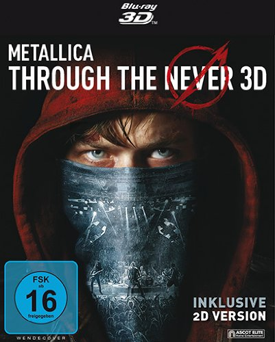 METALLICA – Through the Never (2-Disc Edition) [3D Blu-ray inkl. 2D]