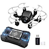 FQ777-126C RC Quadcopter Mini Spider Drone With 2MP HD Camera 3D Roll One Key to Return Headless Mode Dual Mode 4CH 6Axis Gyro RC Hexacopter - Nero