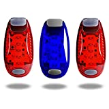 TBoonor LED Sicherheitslicht Clip auf LED Blinklicht Running Lichter für
