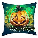 Federa Decorativa di Halloween Cuscino del Divano Cuscino di Zucca Stampa Cartoon Lettera Decorazione Divano, Tornio ,del Partito Decorazione della Casa