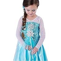 MissFox Halloween Ragazze Vestito Abbigliamento Di Frozen